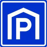 Parkeergarage bord
